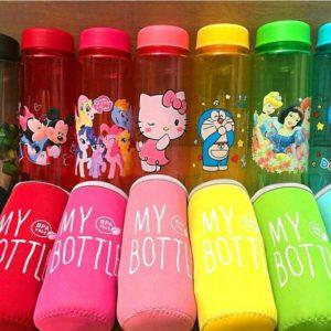 My Bottle Warna KARAKTER Sarung Busa Tahan Panas Dan Dingin