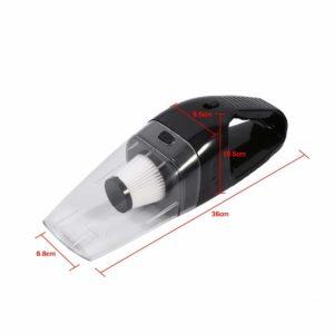 Vacuum Cleaner Mobil Mini Portable Sedotan Kuat