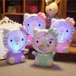 180 Kipas Genggam Karakter LED