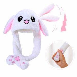 (TANPA LED) Bunny Ear Hat – Topi Tik Tok Kelinci