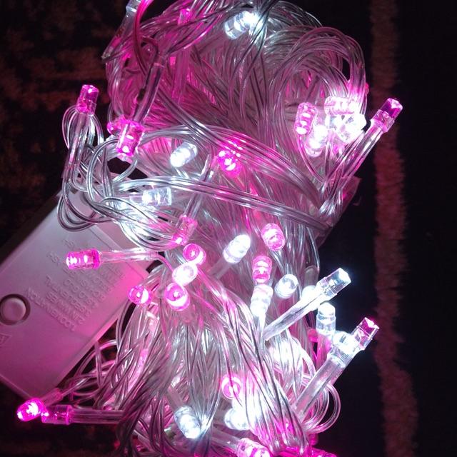 Lampu Tumblr 10 Meter LED PINK DAN PUTIH | Grosir Cirebon
