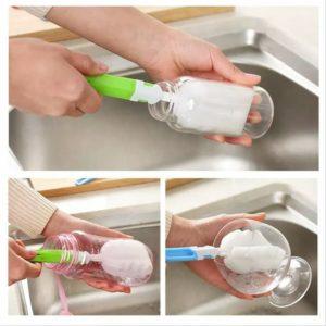 Sikat Spons Pencuci Botol dan Gelas