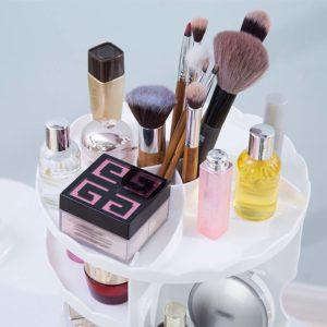 Rak Kosmetik Putar Plastik