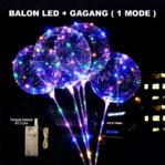 Balon LED Tumblr 1 MODE + Gagang