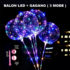 Balon LED Tumblr 3 MODE + Gagang