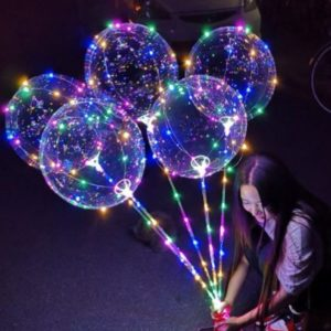 Balon LED Tumblr 3 MODE + Gagang