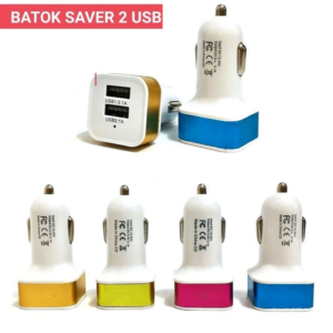 Charger Mobil 2 Port USB Murah