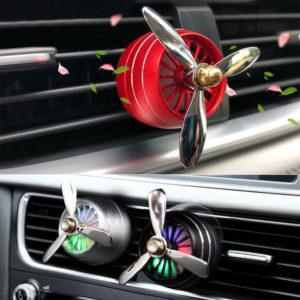 Parfum Pengharum Mobil Baling-baling LED