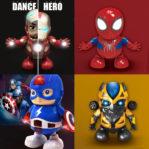 Mainan Anak Super Hero Joget – Dance Hero