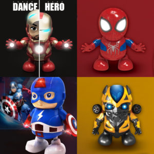 Mainan Anak Super Hero Joget – Dance Hero
