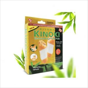 (1 Box isi 10 Pcs) KINOKI GOLD Cleansing Detox Foot Pads – Koyo Penyerap Racun
