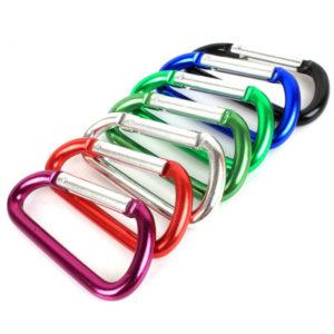 Gantungan Kunci Carabiner Mini Aluminium Alloy