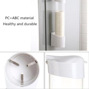 Dispenser Tempat Penyimpanan Paper Cup Otomatis