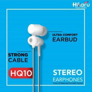 Hikaru Stereo Earphones HQ10 Mega Bass