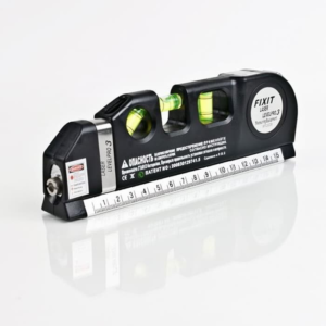 Waterpass Laser Level Fixit 4 in 1 Ada Penggaris & Meteran