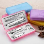 Manicure Pedicure Set 7 in 1 Kemasan Box