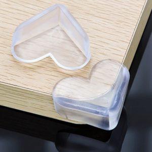 Pengaman Sudut Meja Kaca LOVE Silikon