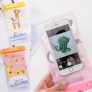 Waterproof HP Karakter – Sarung Handphone Anti Air Kartun