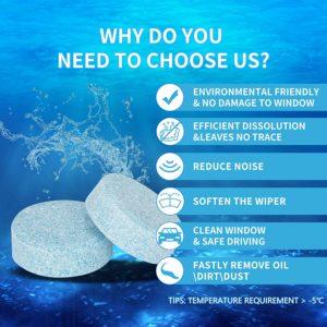 Tablet Sabun Pembersih Kaca Wiper Mobil Toilet Rumah