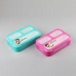 606 Lunch Box YooYee Mini ANTI TUMPAH Kotak Makan Sup 3 Sekat Bento