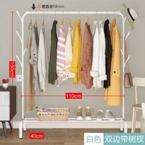 (NEW) Standing Hanger Single Rak Gantungan Pakaian Baju Serbaguna