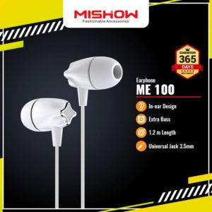 [PROMO] Earphone MISHOW ME100 ADVANCE Extra Bass Headset Handsfree With Mic