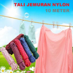 Tali Jemuran Nylon 10 Meter