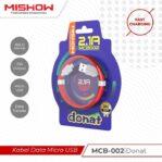 [PROMO] Kabel Data MISHOW Advance Fast Charging MCB-002 DONAT 2.1A