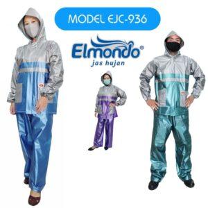 Jas Hujan Setelah Jaket Celana Elmondo 936 Metalik Kombinasi