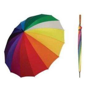Payung Pelangi 16 Jari