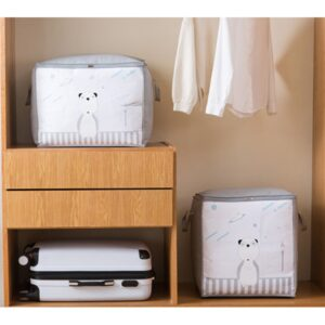 853 Storage Organizer Bag Pakaian Box Tempat Baju