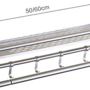 472 Rak Kamar Mandi Stainless Steel 1 Tingkat