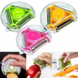 Peeler 3 in 1 – Alat Pengupas Buah dan Sayur Multifungsi