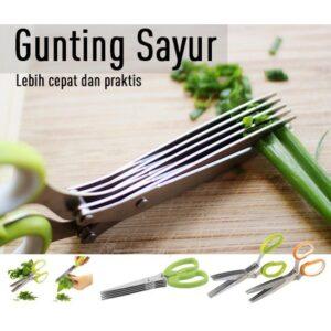 (KECIL) Gunting Sayur 5 Lapis