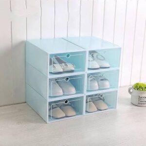 723 Box Kotak Lipat Tempat Sepatu Susun Plastik