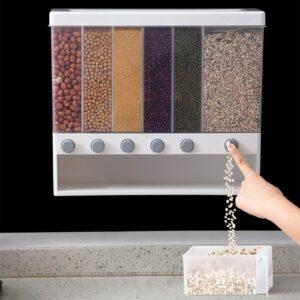 788 Tempat Beras Kacang Topping Cereal Multifungsi – Storage Jar Dispenser