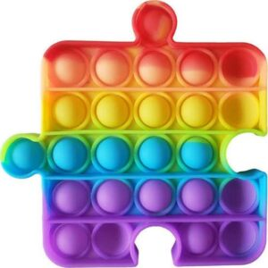 Pop it rainbow fidget push mainan anak murah