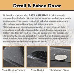 Pisau Dapur Set isi 5 Pcs Lapis Batu Maifan